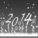 Sous verres Bonne année, meilleurs vœux3 - gravure miroir acrylique