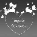 Sous verres St Valentin - cœurs - Dessous de verre gravure sur miroir acrylique