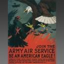 Charles Livingston Bull, 1917 - affiche poster avion