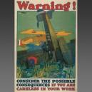 L.N. Britton, 1917 - affiche poster avion