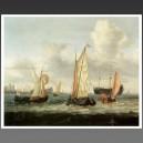 Bateau Hollandais au mouillage