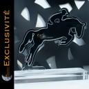 Trophée équitation, cheval, saut d'obstacle, dressage