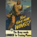 E. R. Ward, 1942 - Affiche posters aviation
